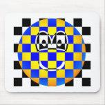 Chess board emoticon   mousepad