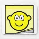 Post-it note buddy icon   mousepad