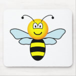 Bumble bee emoticon   mousepad