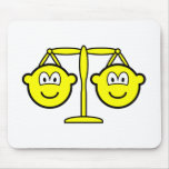 Libra buddy icon Zodiac sign  mousepad