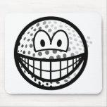 Golfball smile   mousepad