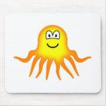 Octopus emoticon   mousepad