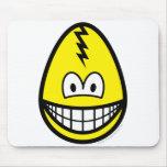 Egg smile Cracked egg  mousepad
