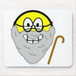 Old smile   mousepad
