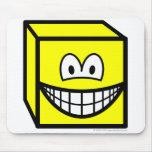 Cube smile   mousepad