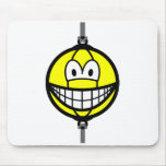 Boxingball smile   mousepad