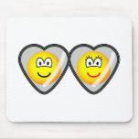 Locket emoticon   mousepad