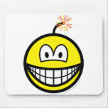 Bomb smile   mousepad