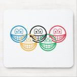 Olympic smile   mousepad