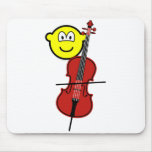 Cello playing buddy icon   mousepad