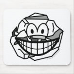 Ball of paper smile   mousepad