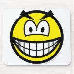 Evil smile   mousepad