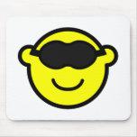 Sleeping mask buddy icon   mousepad