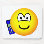 Mobile phoning emoticon   mousepad
