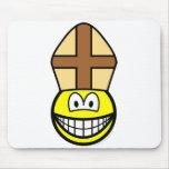 Pope smile   mousepad