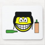 Bum smile   mousepad