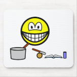 Cooking smile   mousepad