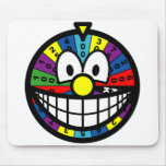 Wheel of fortune smile   mousepad