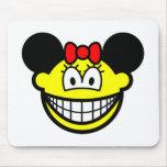 Minnie Mouse smile   mousepad