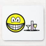 Waiter smile   mousepad