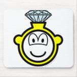 Diamond ring buddy icon   mousepad