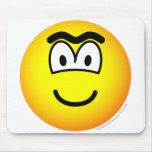 Unibrow emoticon   mousepad