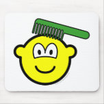 Combing buddy icon   mousepad
