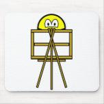 Painter smile   mousepad