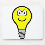 Lightbulb buddy icon   mousepad