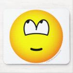 It wasn't me emoticon   mousepad