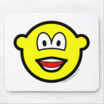 Laughing buddy icon   mousepad