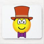 Willy Wonka emoticon   mousepad