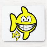Pisces smile Zodiac sign  mousepad