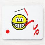 Rhythmic gymnastics smile Olympic sport Artistic gymnastics mousepad