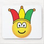Joker/Carnival emoticon   mousepad