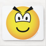 Evil emoticon   mousepad