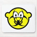 Biohazard buddy icon version II  mousepad