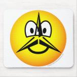 Mercedes emoticon   mousepad
