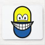 Pill smile   mousepad