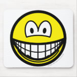 Fat smile   mousepad