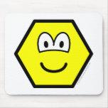 Hexagon buddy icon   mousepad