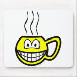 Cup smile Hot  mousepad