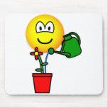 Gardener emoticon   mousepad