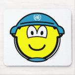 UN soldier buddy icon   mousepad
