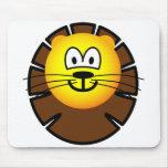 Leo emoticon Zodiac sign  mousepad