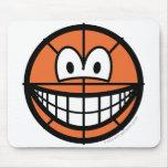 Basketball smile   mousepad
