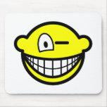 Wink smile   mousepad