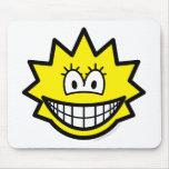 Simpson smile Lisa  mousepad