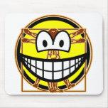 Vitruvian Man smile Da vinci  mousepad