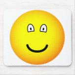 Tiny eyed emoticon   mousepad